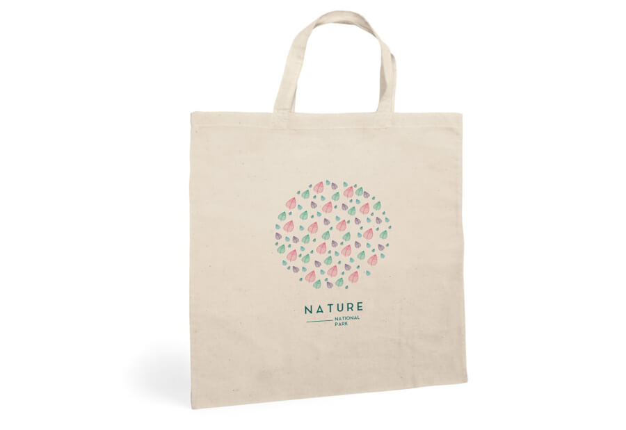Printed Ecological Fabric Bags