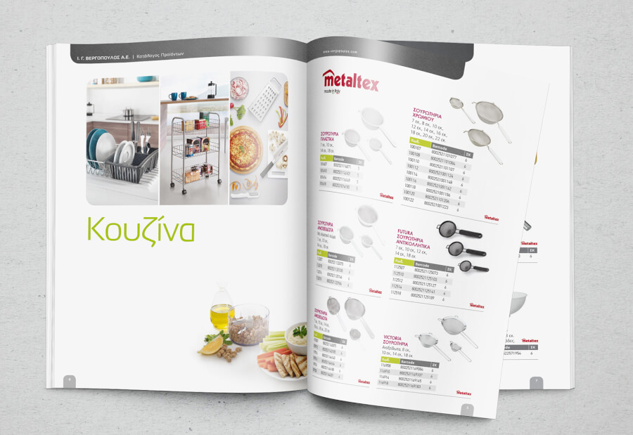 Digital Printing of Catalogs and Βrochure