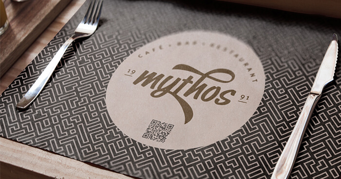Printed Placemats for Restaurants and Hotels